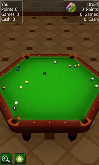 3D桌球截图(2)