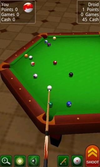 3D桌球截图(3)