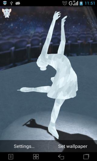 3D水晶女神-梦象动态壁纸截图(1)