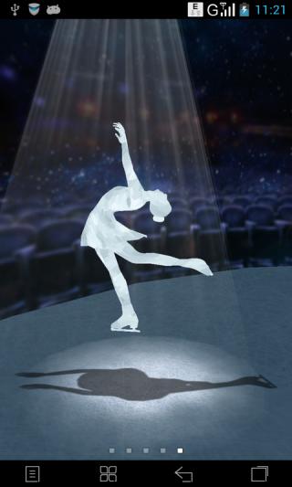 3D水晶女神-梦象动态壁纸截图(2)