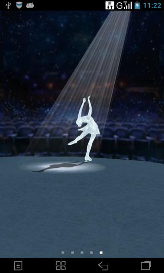 3D水晶女神-梦象动态壁纸截图(3)