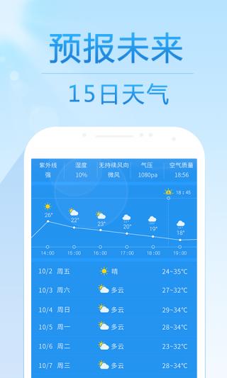 15日天气预报截图(2)