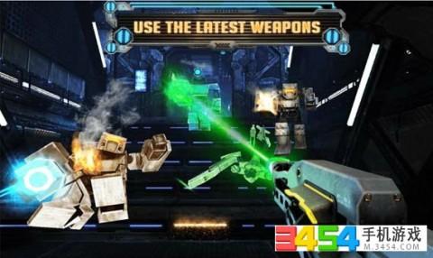 机器人军团战截图(4)