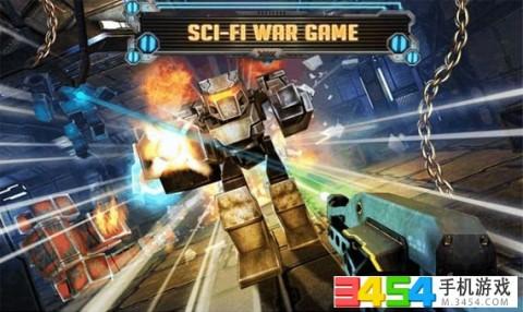 机器人军团战截图(3)