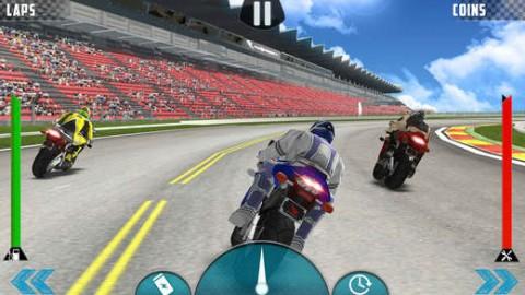 疯狂的自行车特技比赛截图(4)