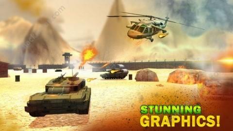 隐形直升机战斗机模拟器中文无限金币破解版截图(3)