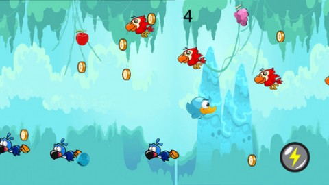 Cute Little Birdy Jungle Rush截图(2)