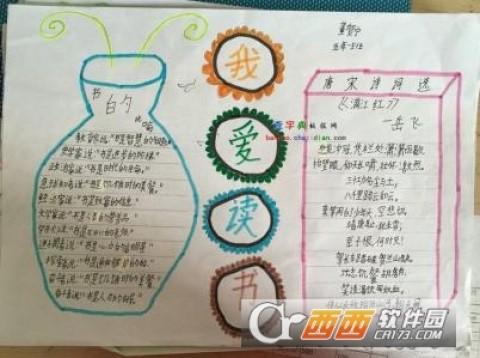 世界读书日书香文化黑板报图片素材免费版手机版下载图片