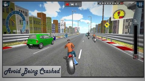 Highway Moto Racer截图(2)