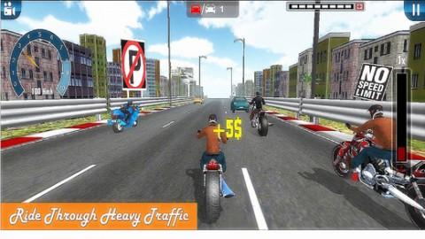 Highway Moto Racer截图(3)