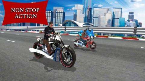Traffic Heavy Bike Race截图(1)