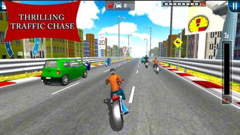 Traffic Heavy Bike Race截图(2)