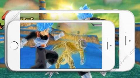Saiyan Attack Ultimate Butoden正版截图(1)