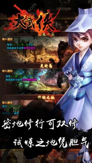 大武侠手游正版网站截图(2)