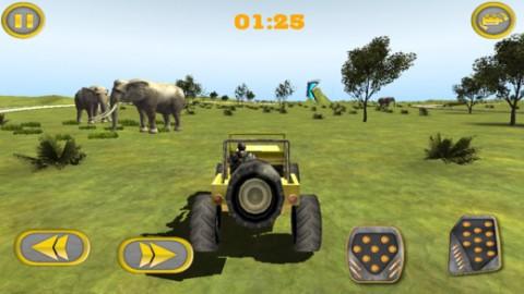 停车冒险在动物丛林竞技场截图(1)