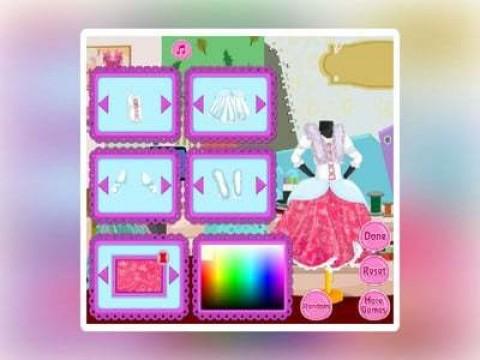 芭比宝贝的公主裙截图(1)