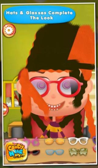 糖果美发沙龙 - 儿童游戏截图(1)