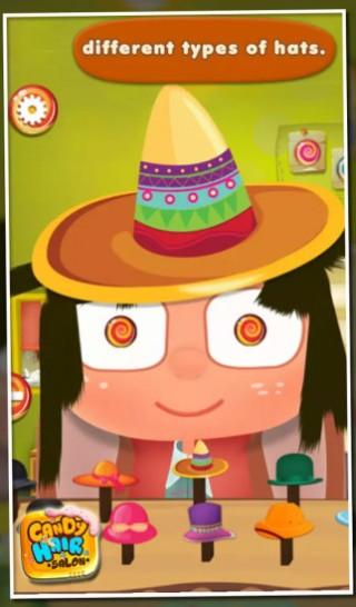 糖果美发沙龙 - 儿童游戏截图(10)