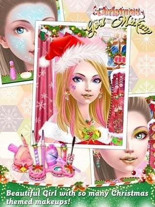Christmas Girl Makeup截图(2)