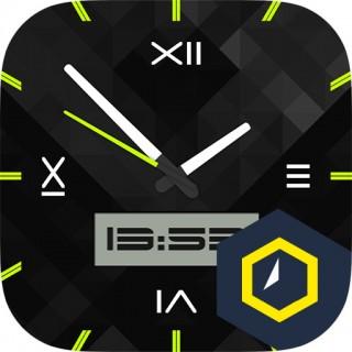 Watchface Hexalogic截图(1)