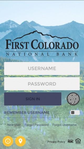 First Colorado National Bank截图(1)