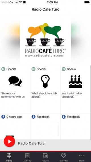 Radio Cafe Turc截图(1)