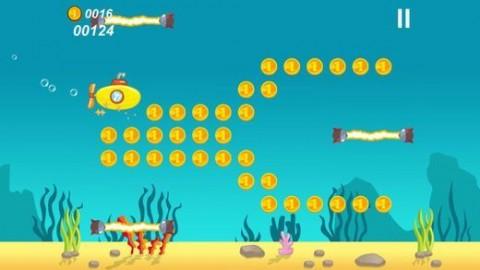 小潜艇大冒险游戏安卓版截图(1)