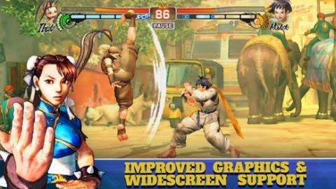 街头霸王4:冠军版iOS版截图(2)
