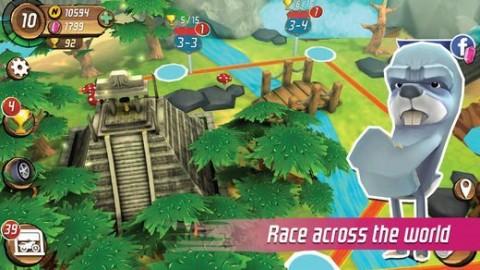 飞车黑猩猩大奖赛无限金币内购破解版截图(3)