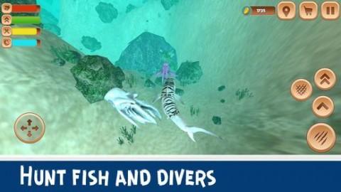 巨型虎鲨模拟器3D安卓破解版截图(2)