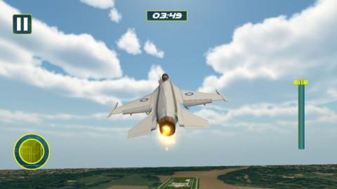 飞行员 平面 降落 游戏截图(1)