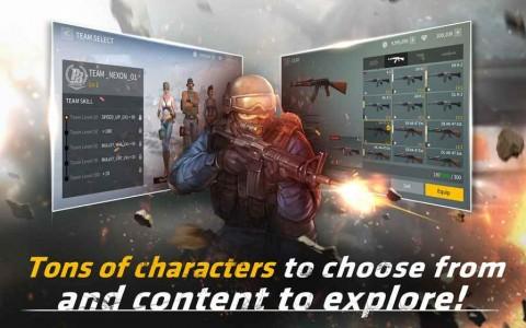 NEXON无线战场手游版截图(1)