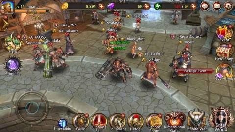 捍卫者英雄传安卓游戏(Team Guardian)截图(5)