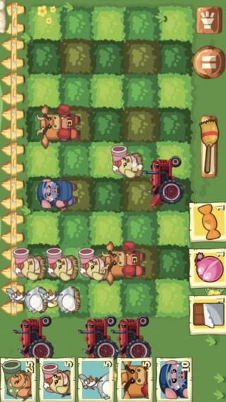 保卫开心农场萝卜大战游戏手机版截图(2)