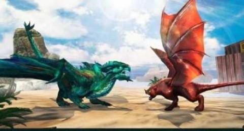 龙族战斗中世纪战争游戏安卓版(Dragons Fighting Medieval War)截图(2)