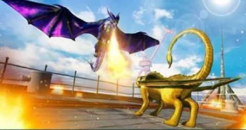 龙族战斗中世纪战争游戏安卓版(Dragons Fighting Medieval War)截图(3)