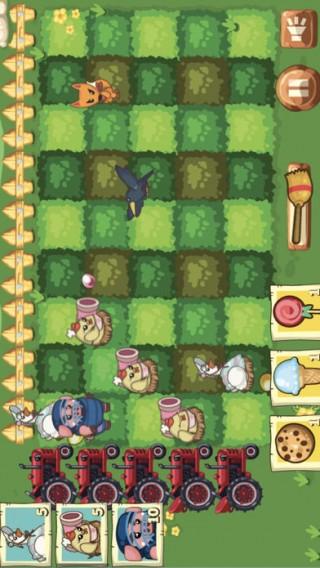 保卫开心农场萝卜大战游戏IOS苹果版截图(1)