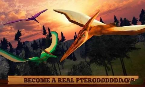 野生飞翔翼龙3D游戏安卓最新版(Flying Pterodactyl Wildlife 3D)截图(4)
