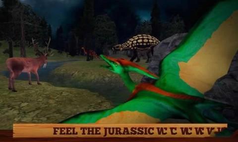 野生飞翔翼龙3D游戏安卓最新版(Flying Pterodactyl Wildlife 3D)截图(3)