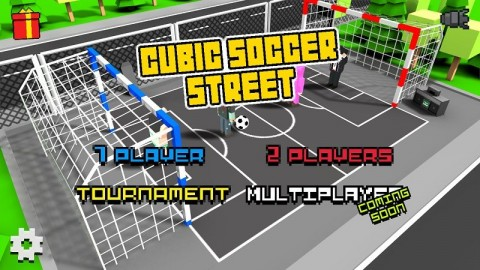 方块街头足球中文无限金币内购破解版(Cubic Basketball 3D)截图(1)