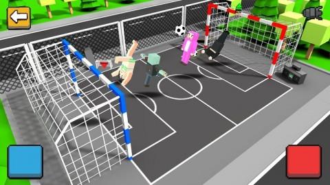 方块街头足球游戏安卓版(Cubic Basketball 3D)截图(4)