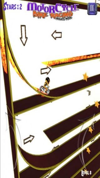 摩托车自行车赛无尽游戏截图(2)