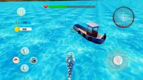 鲨鱼攻击进化3D游戏IOS版截图(3)