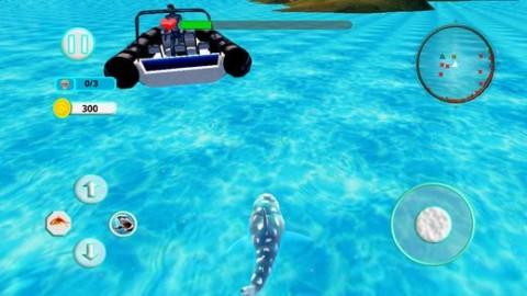 鲨鱼攻击进化3D游戏IOS版截图(2)