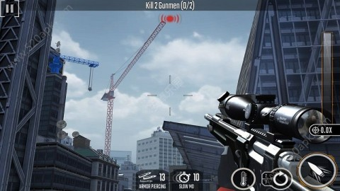 狙击手侵袭中文无限金币内购破解版(Sniper Strike)  v1.504截图(1)