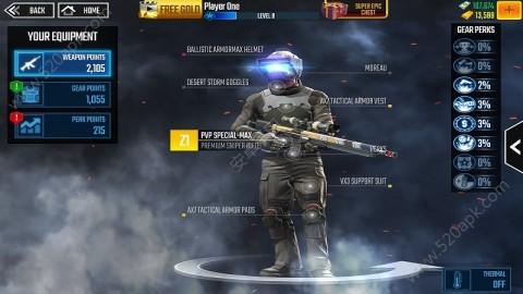 狙击手侵袭中文无限金币内购破解版(Sniper Strike)  v1.504截图(5)