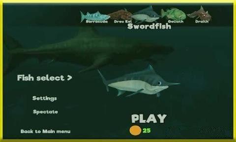 鱼的成长游戏中文汉化版截图(1)