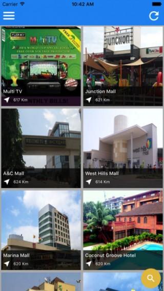 Ghana Tourism App截图(2)