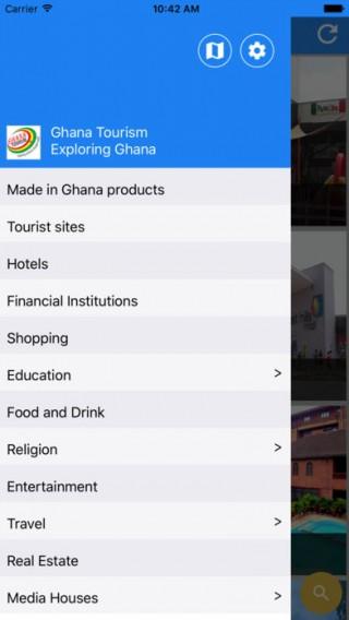 Ghana Tourism App截图(3)