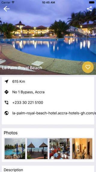 Ghana Tourism App截图(4)